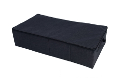 Foldable fabric underbed trunk